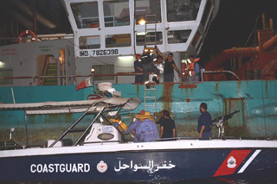 Nine rescued in Bahrain marine excavator accident