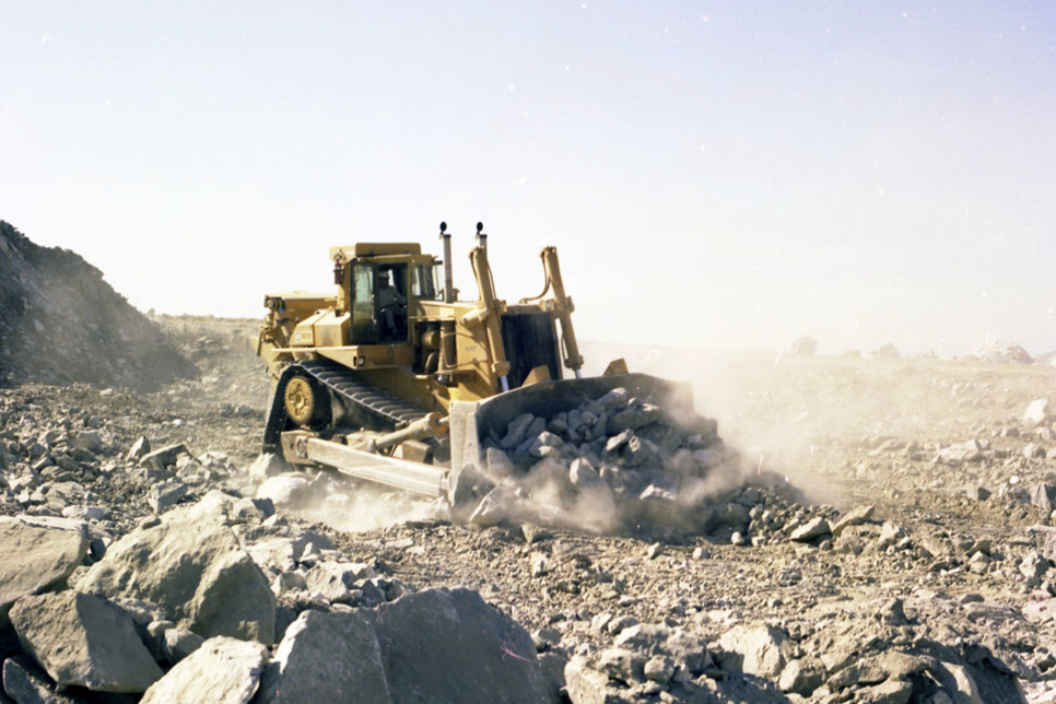 Caterpillar celebrates 40 years of the D10 heavy bulldozer