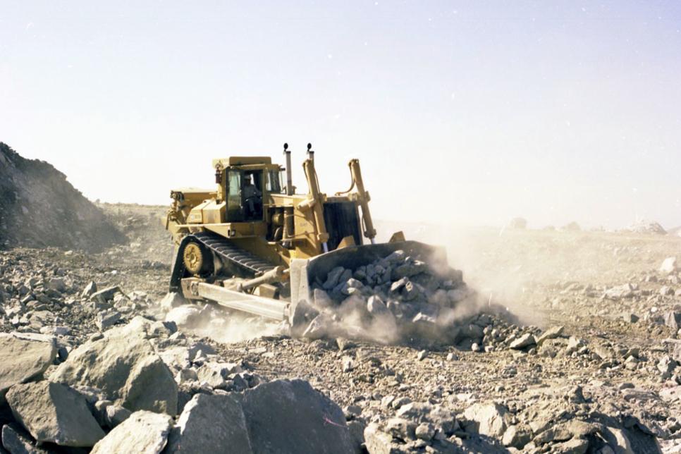 Caterpillar celebrates 40 years of the D10 heavy bulldozer