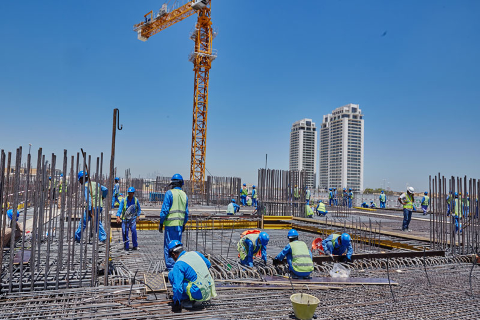 Site visit: Cayan Cantara, Dubai