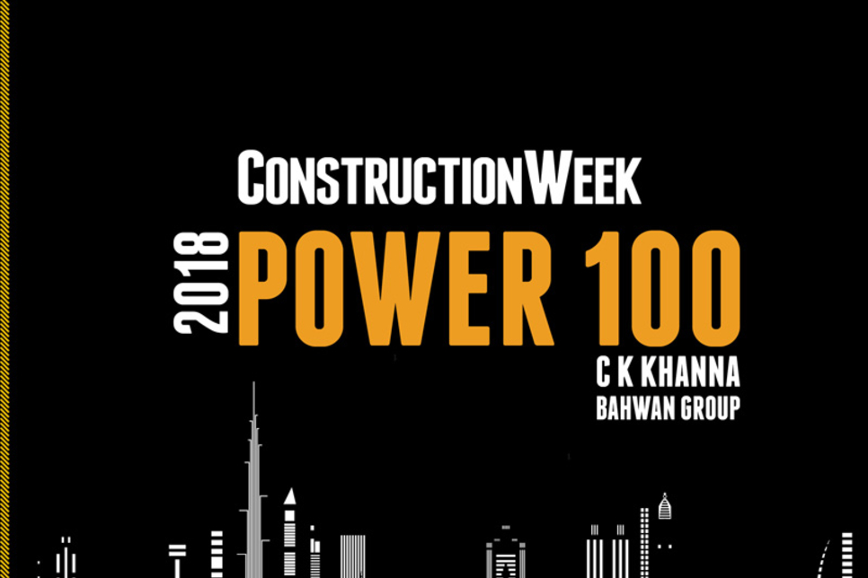 2018 CW Power 100 Preview: C K Khanna of Oman's Bahwan makes debut