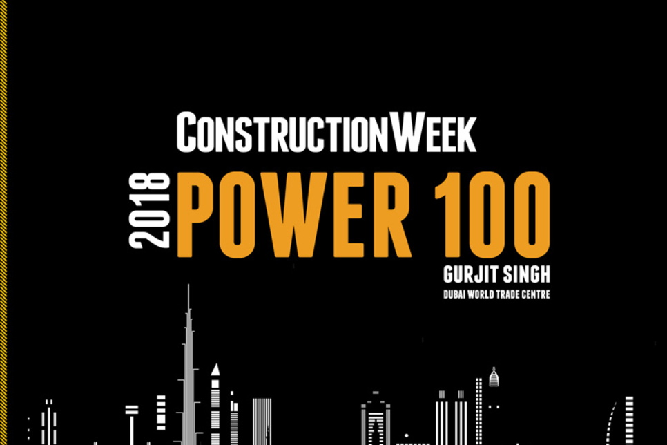 2018 CW Power 100 Preview: Gurjit Singh from Dubai's DWTC enters list