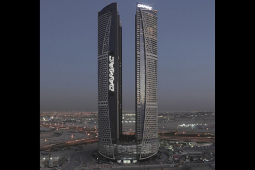 Damac logs 24 million safe man-hours on $1.4bn four-tower project