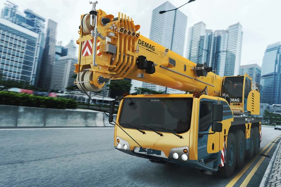 Kuwait's Jassim Transport orders five Demag all-terrain cranes
