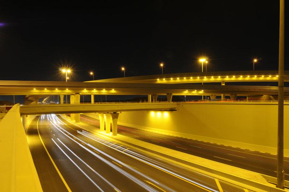 Ashghal opens Onaiza Interchange's main tunnel