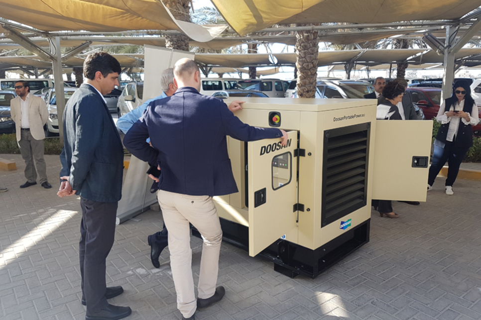 Doosan Portable Power to assemble latest gensets in UAE