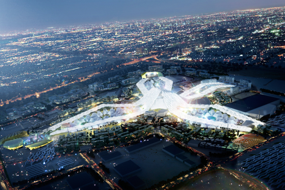 Construction details of Expo 2020 Dubai's UK Pavilion revealed
