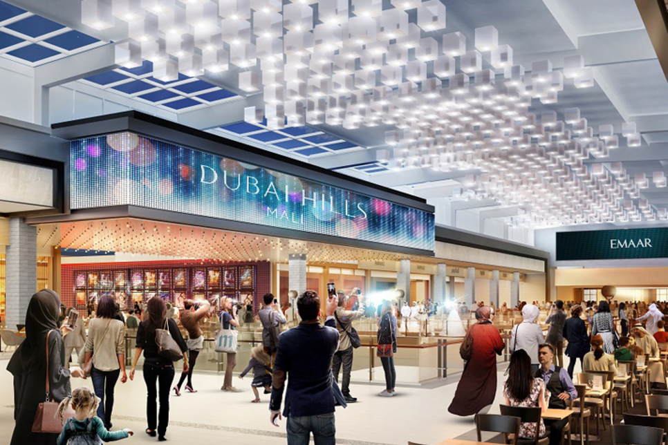 Dubai Hills Mall reaches 60% completion mark