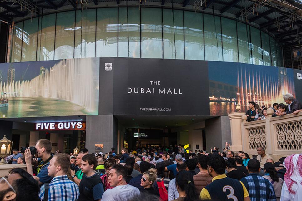 France's Switch Made retrofits Dubai Mall façade lighting