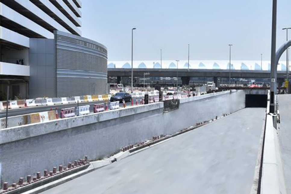 Tunnel linking Dubai's Airport and Marrakech Streets set to open