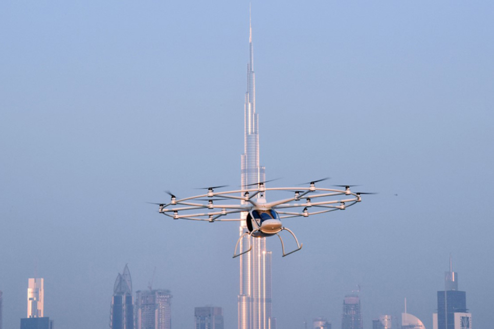 RTA conducts maiden flight of Dubai's autonomous flying taxi