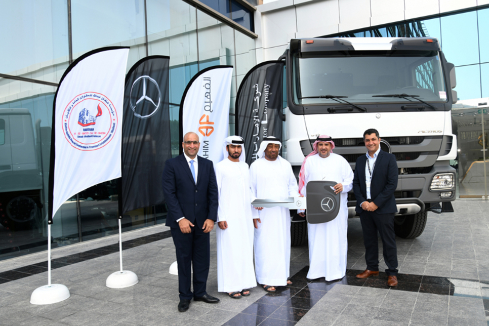 Emirates Motor Company to supply Mercedes-Benz trucks to Khalfest