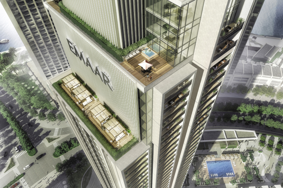 Foundations nearly set for Emaar's Harbour Gate project