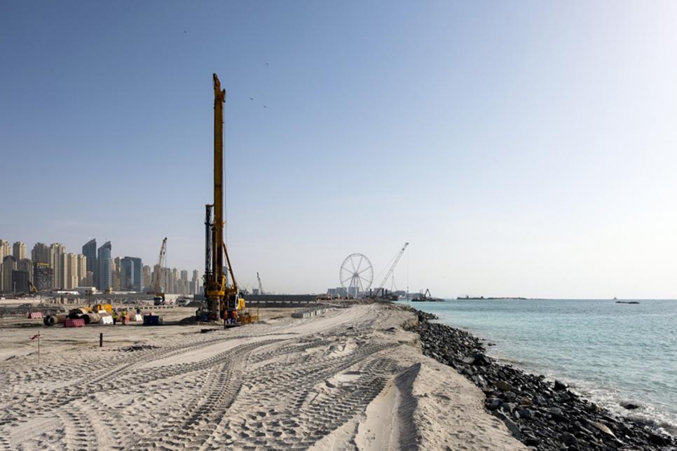 Emaar begins Beach Vista construction on Dubai island