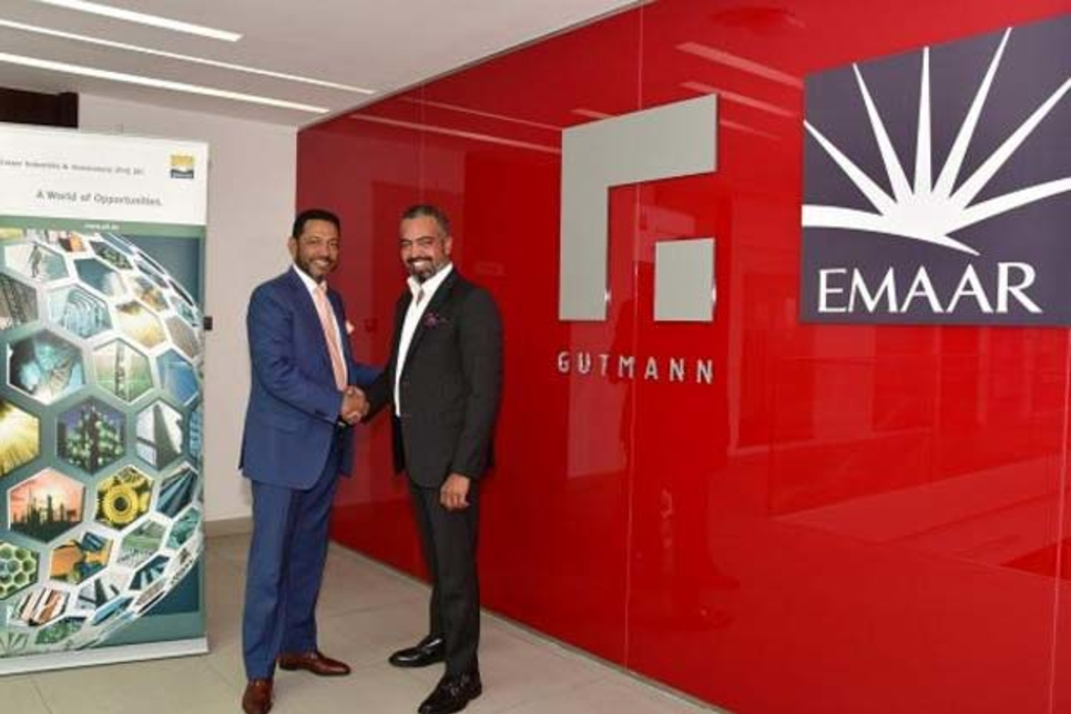 Emaar Industries buys stake in Gutmann Systems Middle East
