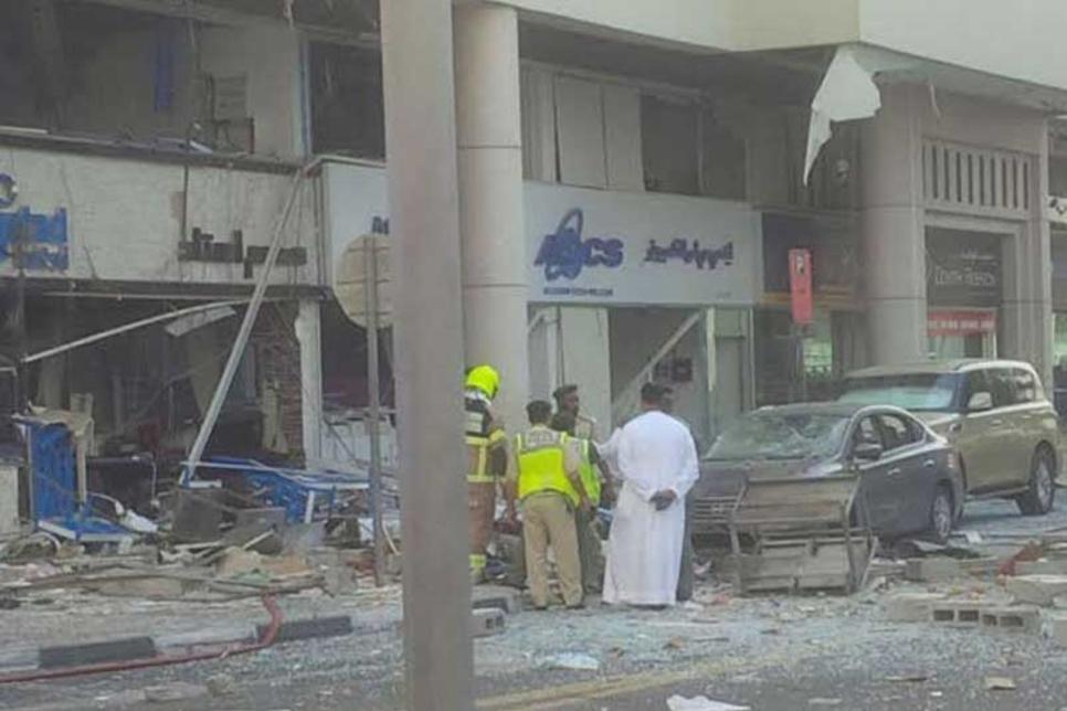 Video: Dubai restaurant destroyed after explosion