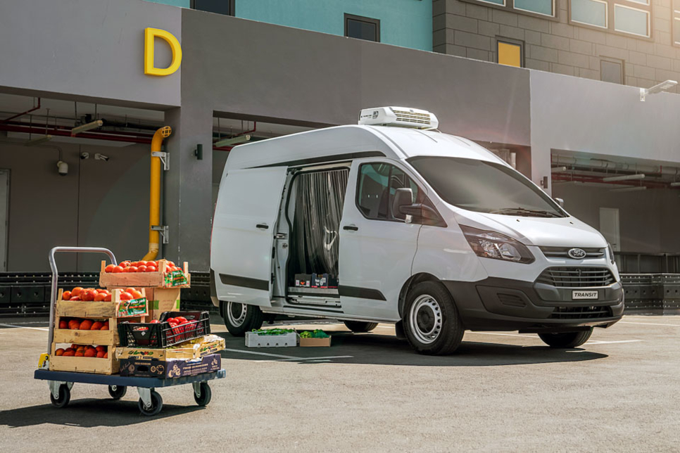 Ford and Thermo King tout refrigerated Transit at Gulfood