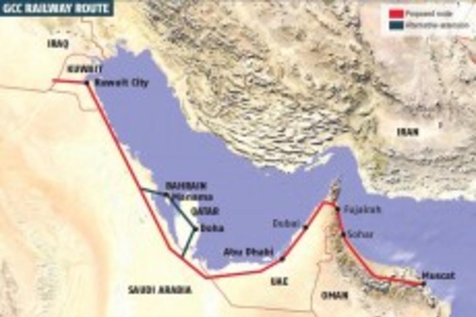 Oman to 'delay' trans-Gulf railway project