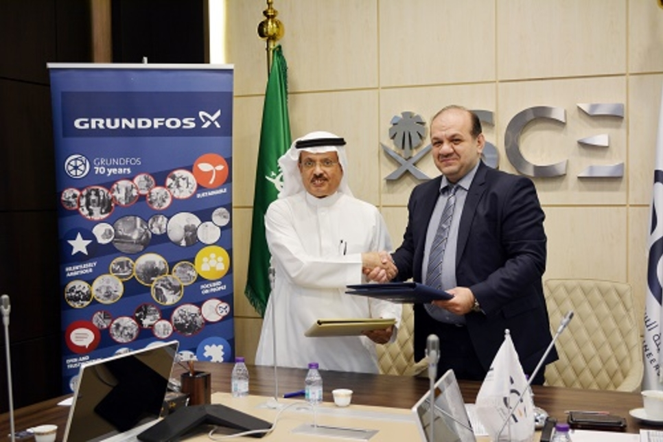 Grundfos signs MoU with Saudi Council of Engineers