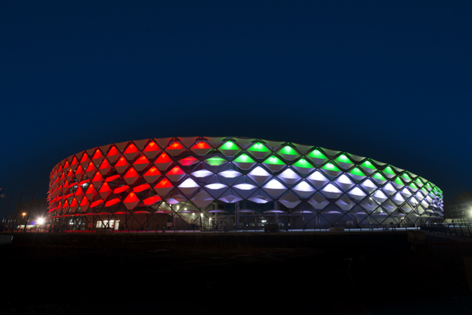 BAM collects international prize for Hazza Bin Zayed Stadium