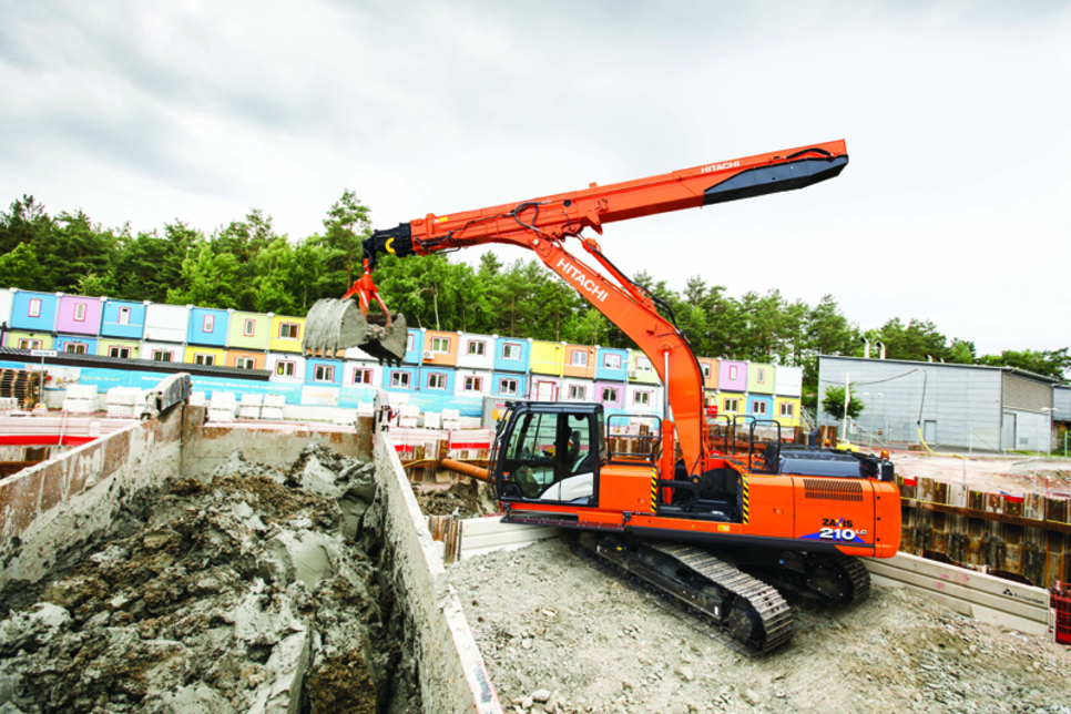 Hitachi unveils excavator focused on underground construction