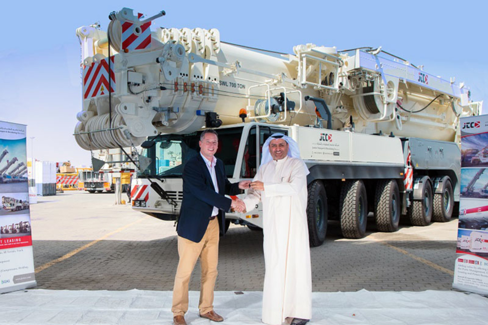 Kuwait's Jassim Transport buys 700-tonne Demag all-terrain crane