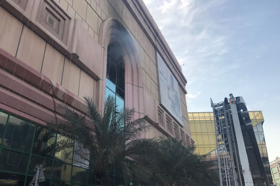 UAE: Fire contained at Dubai's Lamcy Plaza