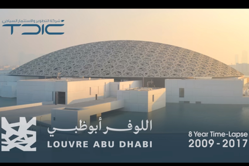 Video: Eight-year time lapse shows Louvre Abu Dhabi take shape