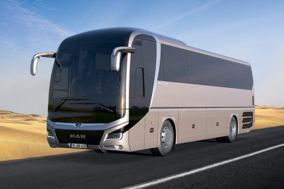 MAN Lion's Coach available for pre-order in Middle East