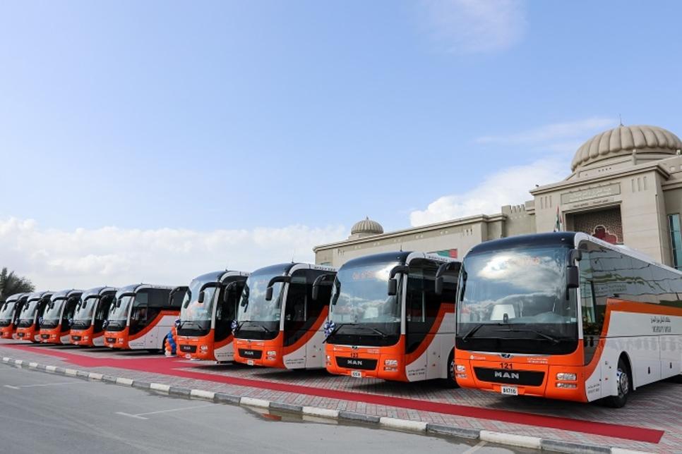Sharjah RTA adds 10 MAN Lion's coaches to its fleet