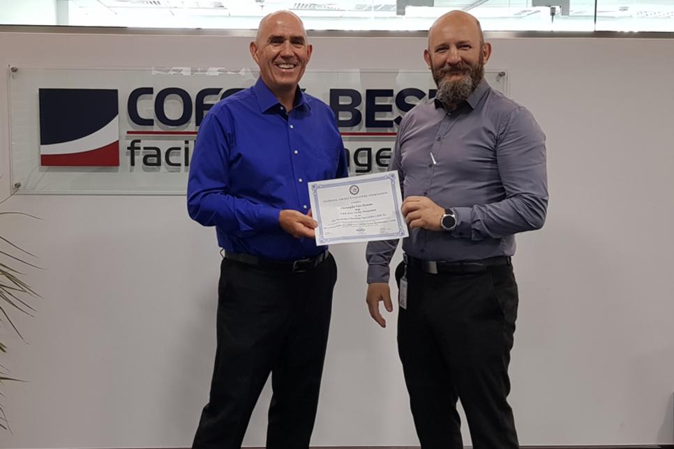 Cofely Besix Facility Management receives NADCA membership