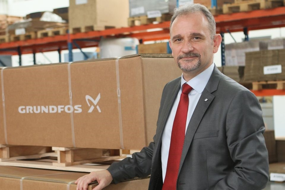 Grundfos appoints head for East Europe, West Asia, MEA