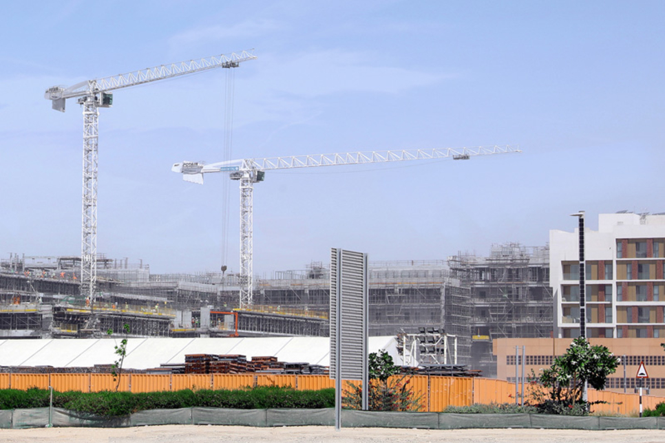 Six Construct picks Potain cranes for Abu Dhabi's Masdar homes