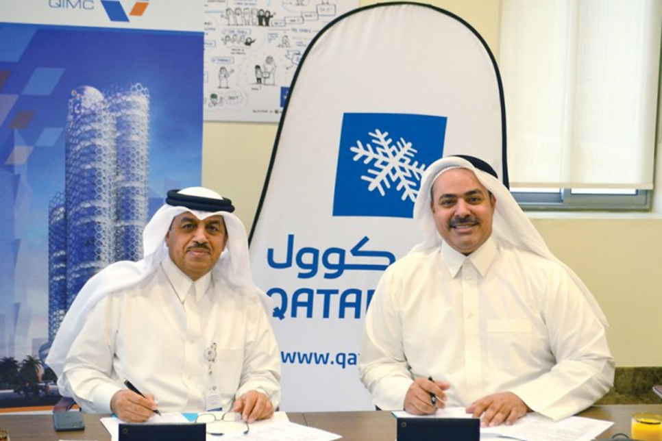 Qatar Cool and QIMC pen agreement for 3,650TR