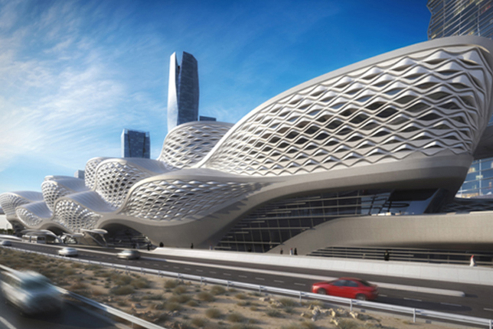 From the archives: Construction of Saudi Arabia's Riyadh Metro