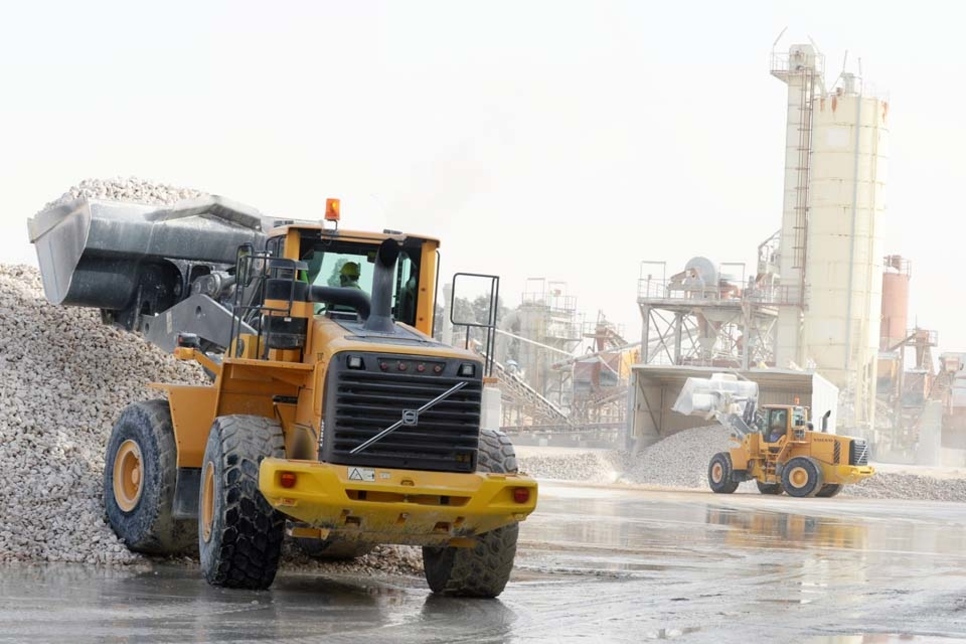 Dammam's Saudi Dolomite praises its fleet of Volvo CE machines