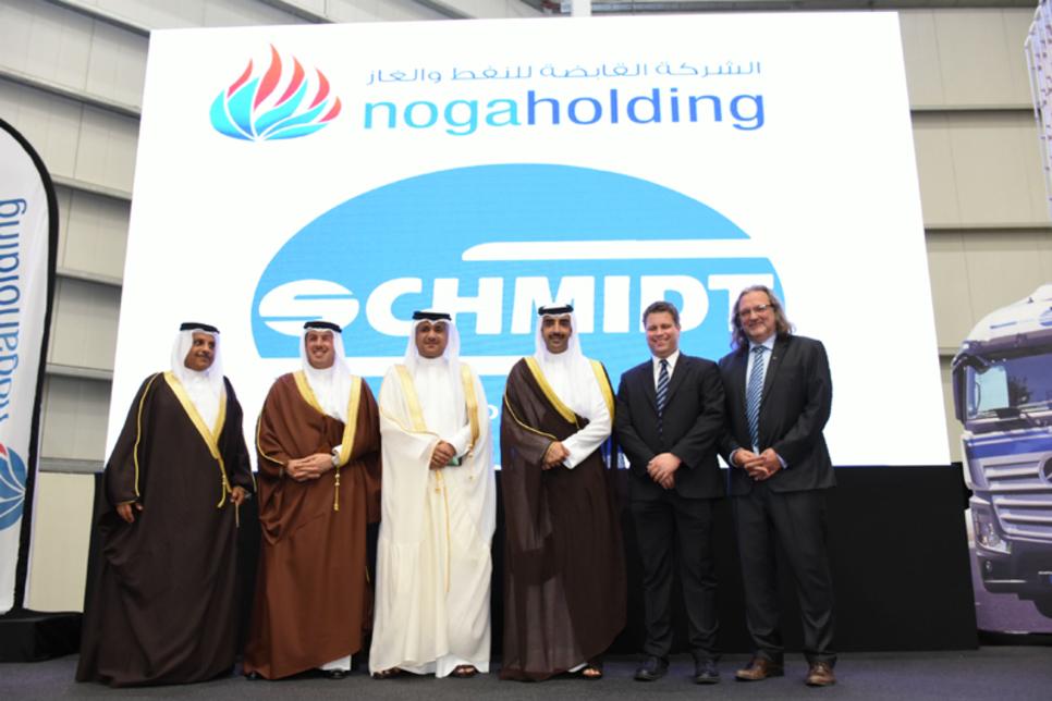Schmidt, nogaholding open $20m logistics facility in Bahrain