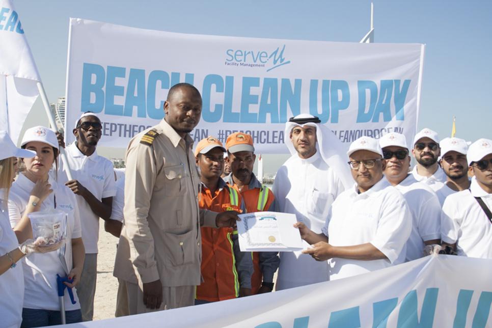 ServeU FM begins CSR campaign with beach clean-up