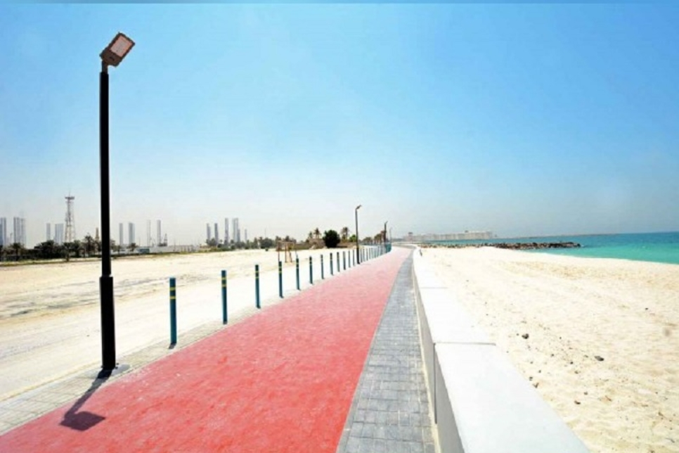 Sharjah completes $1.2m construction works at Al Hamriyah Beach