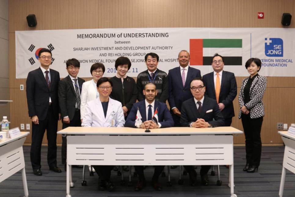 Shurooq inks deal to establish first Korean hospital in Sharjah