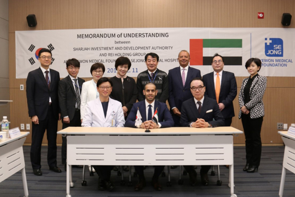 Shurooq inks deal to establish first Korean hospital in Sharjah