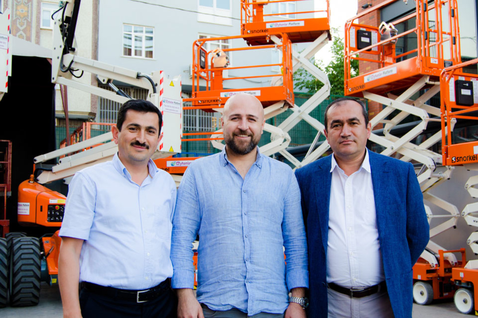 Turkish rental firm orders 50 AWPs from UK-based Snorkel