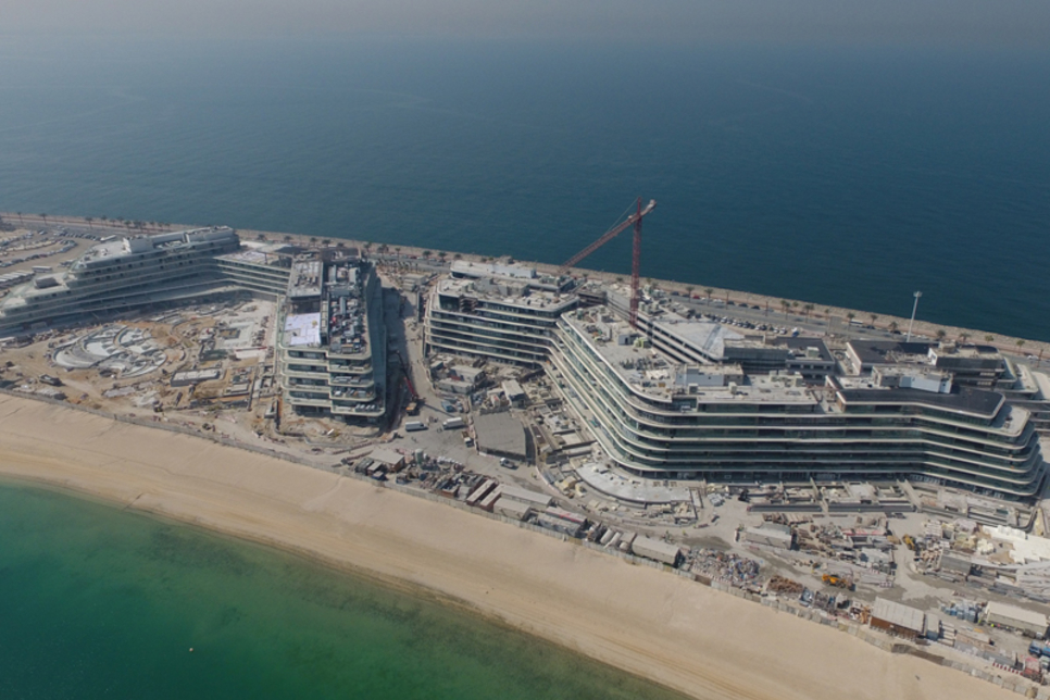 Structural works complete on Dubai's $545m The Alef Residences