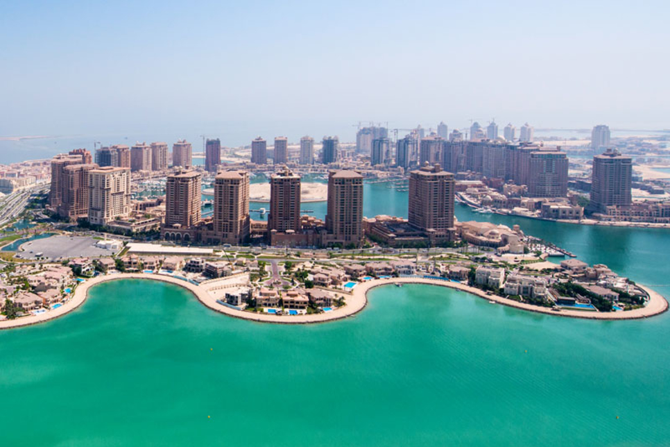 Qatar's UDC secures funding for two-tower project