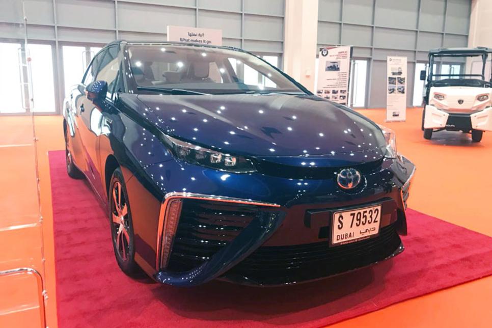 Al-Futtaim Motors displays zero-emission Toyota Mirai at WETEX