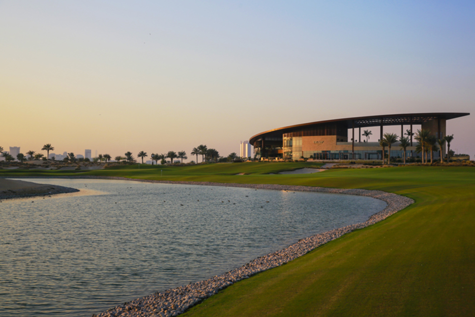 How is Damac's Trump golf course in Dubai managed?