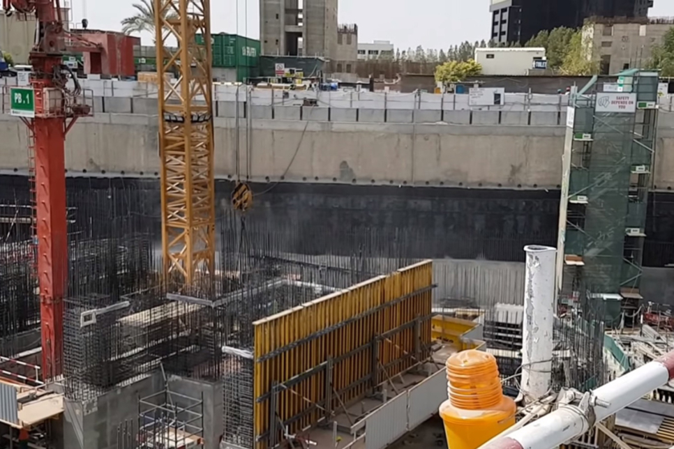 Video: Construction underway at Vivanta by Taj JLT