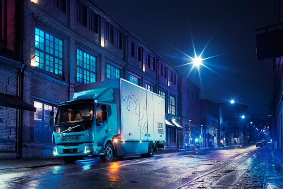 Volvo unveils first commercial electric truck