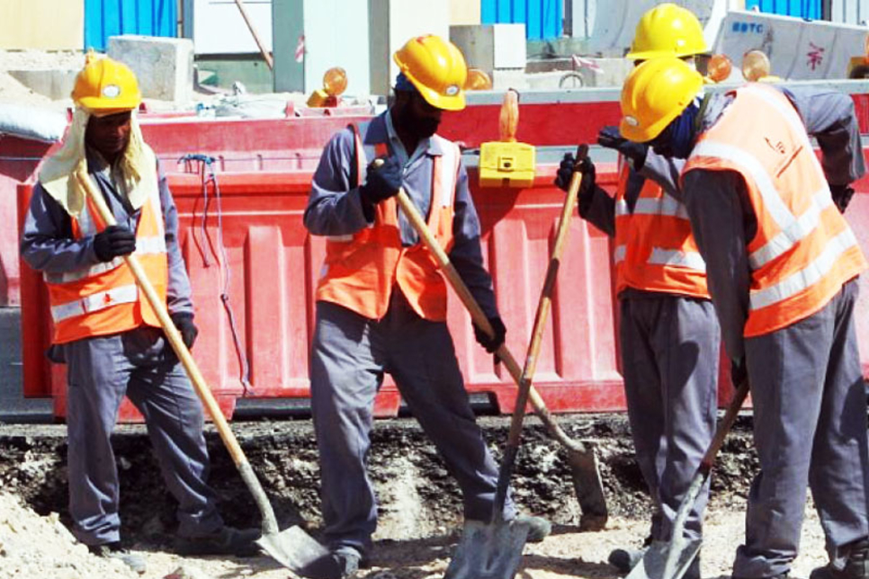 'Cooling' hats due for Qatar construction workers