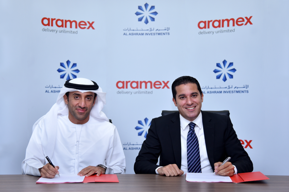 Al Ashram, Aramex ink deal for $20.4m facility